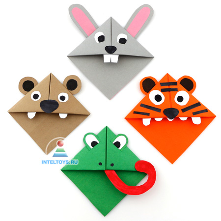 знакомство с оригами 1 класс