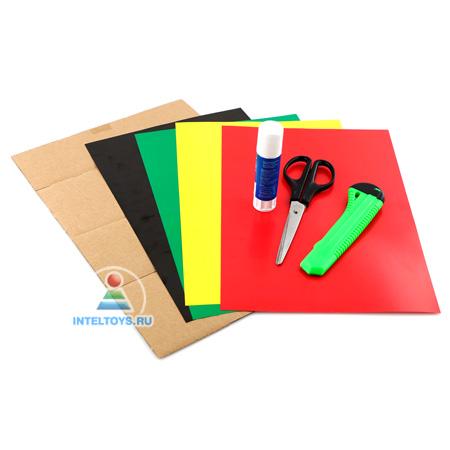 Модели из бумаги и картона своими руками