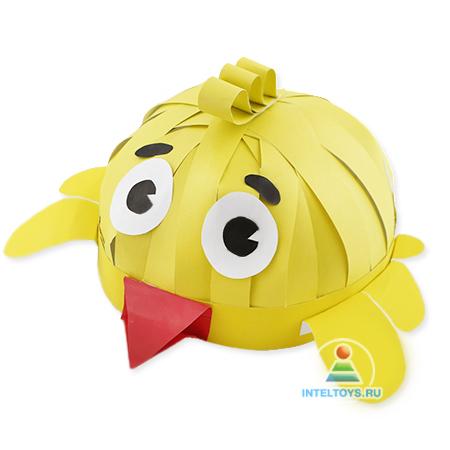 Шапочка Цыпленок Умная игрушка